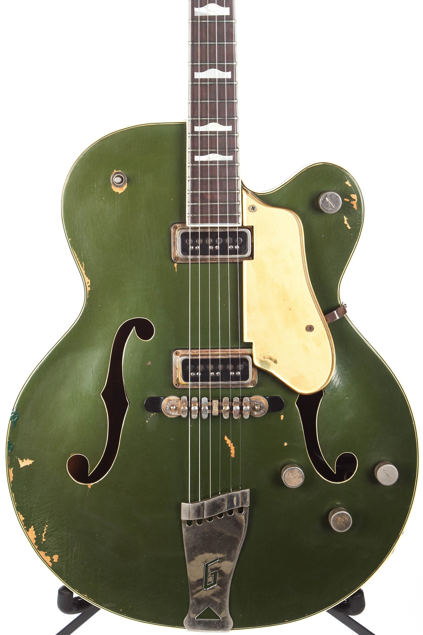 1956 Gretsch 6196 Country Club Cadillac Green