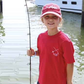 YOUTH FISHING SHIRTS & HATS