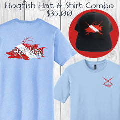 Hogfish T-shirt & Hat Combo