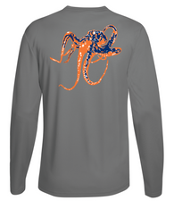 Octopus Performance Dry-Fit Long Sleeve - Gray
