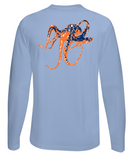 Octopus Performance Dry-Fit Long Sleeve - Lt Blue