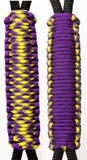Purple & Barney Shines C024C063 -  Paracord Handmade Handles for Stainless Steel Tumblers - Made in USA!