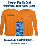 Taron Bundle Deal!  Performance shirt + neck gaiter