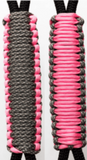 Digi Camo & Baby Pink C007C037 - Paracord Handmade Handles for Stainless Steel Tumblers - Made in USA!