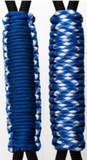 Royal Blue & Good Guy -C012C058 - Paracord Handmade Handles for Stainless Steel Tumblers - Made in USA!