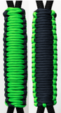 Neon Green & Navy Blue C022C013 - Paracord Handmade Handles for Stainless Steel Tumblers - Made in USA!