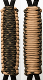 Tan & Camo C029C036 - Paracord Handmade Handles for Stainless Steel Tumblers - Made in USA!
