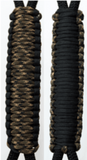 Camo & Black C031C036 - Paracord Handmade Handles for Stainless Steel Tumblers - Made in USA!