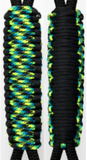 Black & Aquatica C031C062 - Paracord Handmade Handles for Stainless Steel Tumblers - Made in USA!
