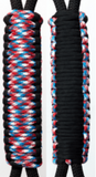 Black & Freedom C031C068 - Paracord Handmade Handles for Stainless Steel Tumblers - Made in USA!
