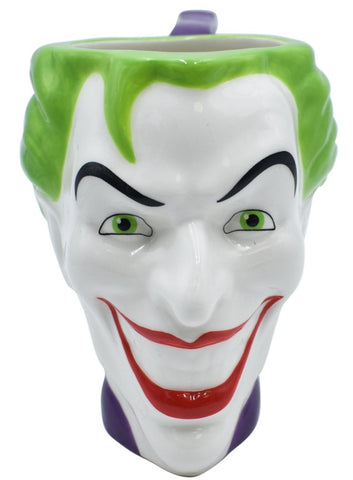 DC COMICS Tarro Joker face blanco