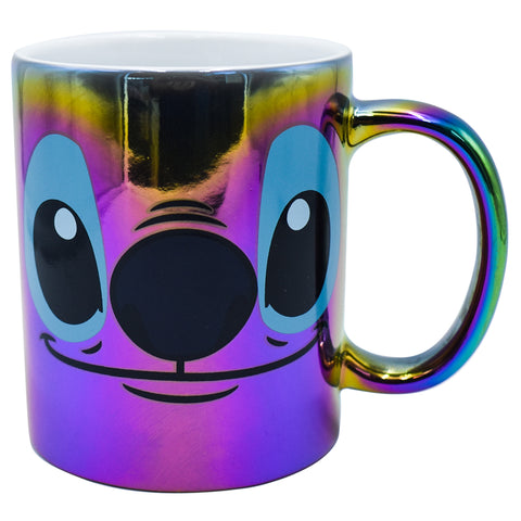 Disney Taza Stitch Iridiscente multicolor