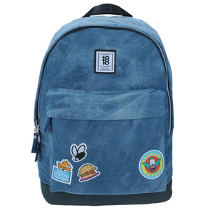 The Simpsons Mochila  de Krusty Camp color Mezclilla