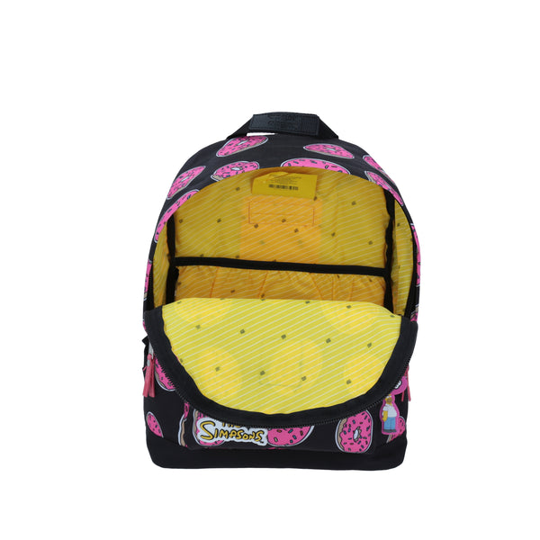 The Simpsons Mochila Donuts color Negro