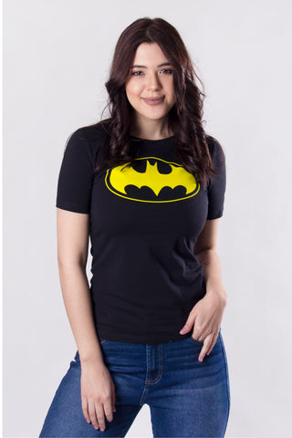 Blusa Batman Flock Black and Yellow