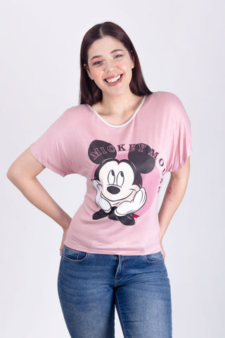 Blusa Mickey in Love