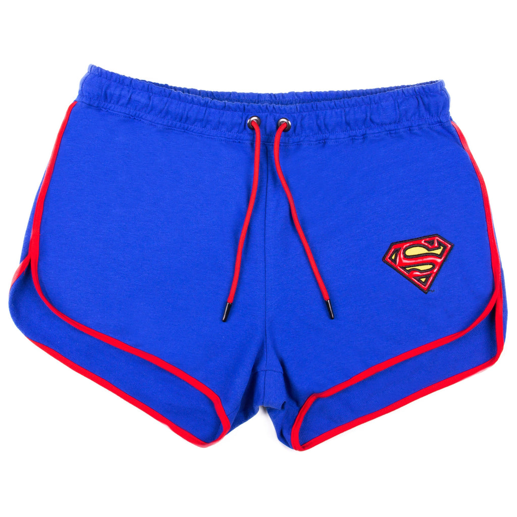 DC Comics Short de Superman Color Azul para Dama