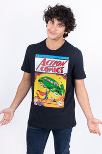 Playera Comic Superman