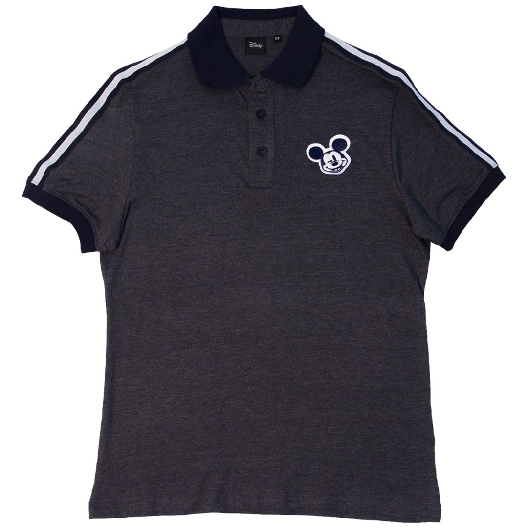 Disney Playera Polo de Mickey Mouse Color Oxford de Caballero