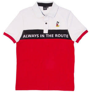 Playera Polo Always in The Route - Mickey