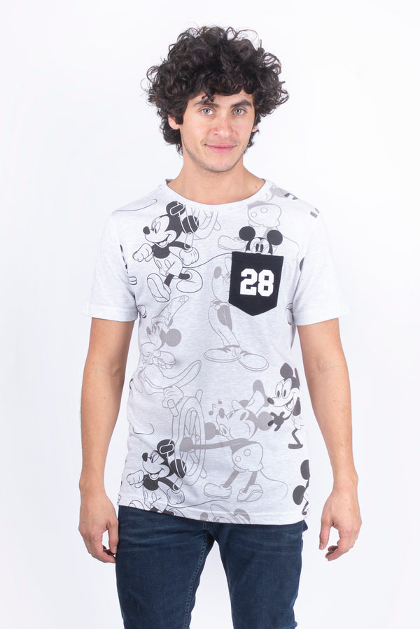 Playera Mickey Mouse 90 años