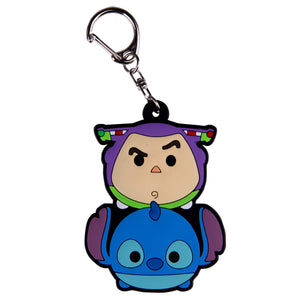 Disney Llavero Buzz Lightyear & Stitch