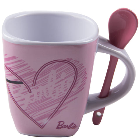 Taza Barbie Rosa