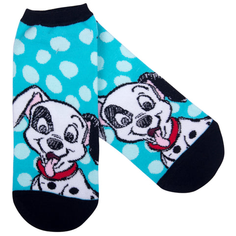 Disney Calcetines 101 Dálmatas Patch Verde Agua