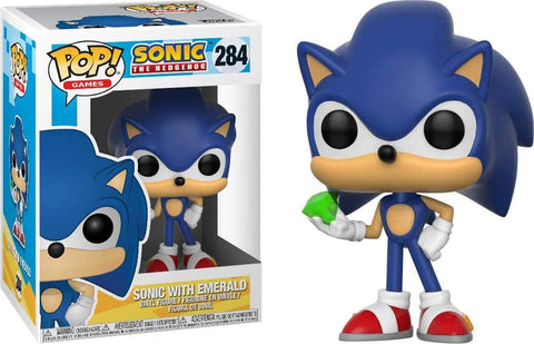 Funko POP! Games Sonic With Emerald 284