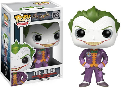 Funko POP! Heroes Batman Arkham Asylum The Joker 53