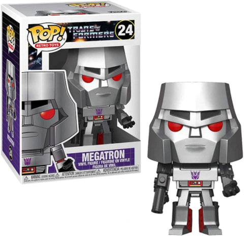 Funko POP! Retro Toys Transformers Megatron 24
