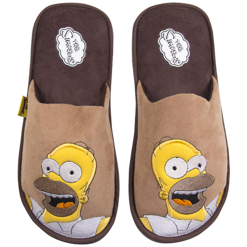 The simpsons Pantuflas Homero Simpson Cafe