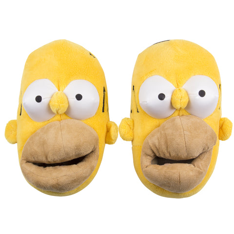 The simpsons Pantuflas Homero Simpson Cara amarillas