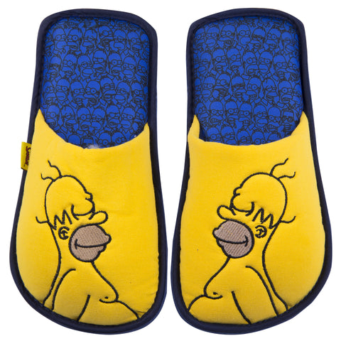 The simpsons Pantuflas Homero Simpson Amarilla