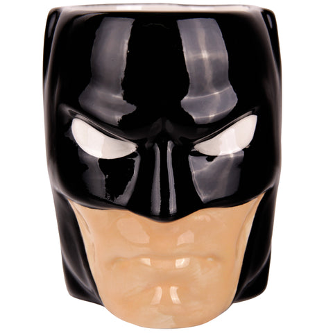 DC COMICS tarro batman face negro
