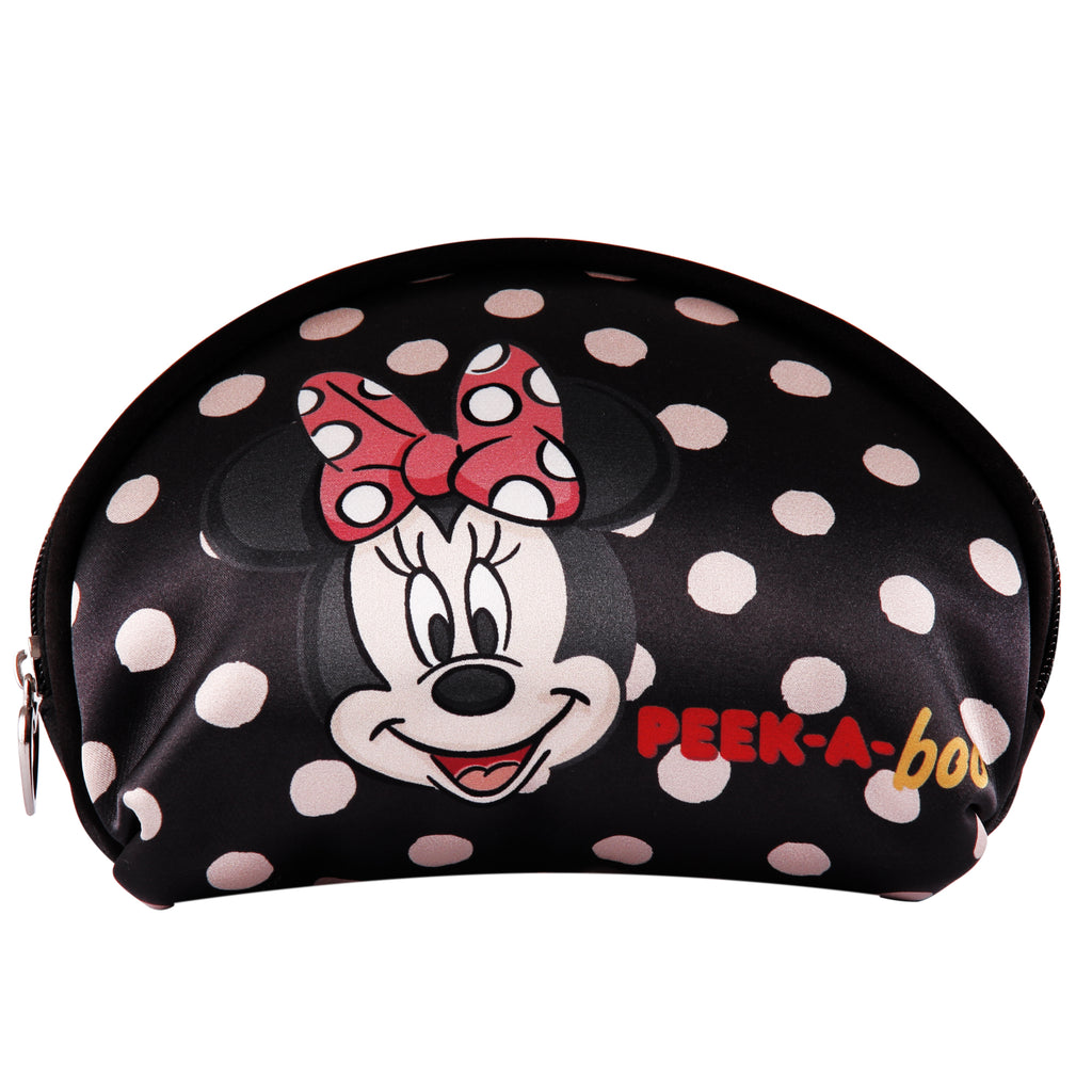 Disney Estuche Multifuncional de Minnie Mouse color Negro