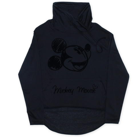 MICKEY HIGH NECK / LOW BACK (BLACK)