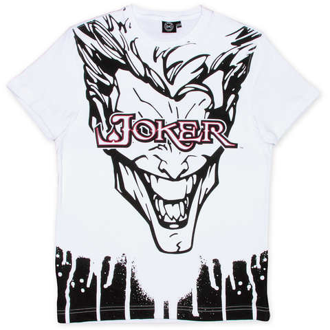 Playera Joker White