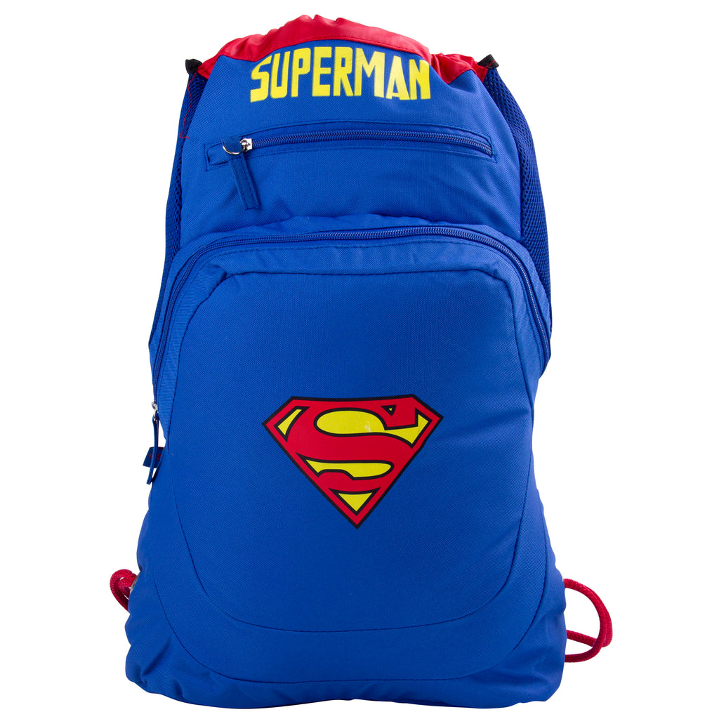 DC Comics Morral Premium de Superman color Azul