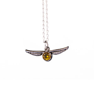 Collar Harry Potter Snitch Dorada Esmalte