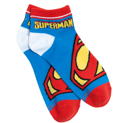 DC Comics Calcetines Superman Azul- Rojo- Blanco