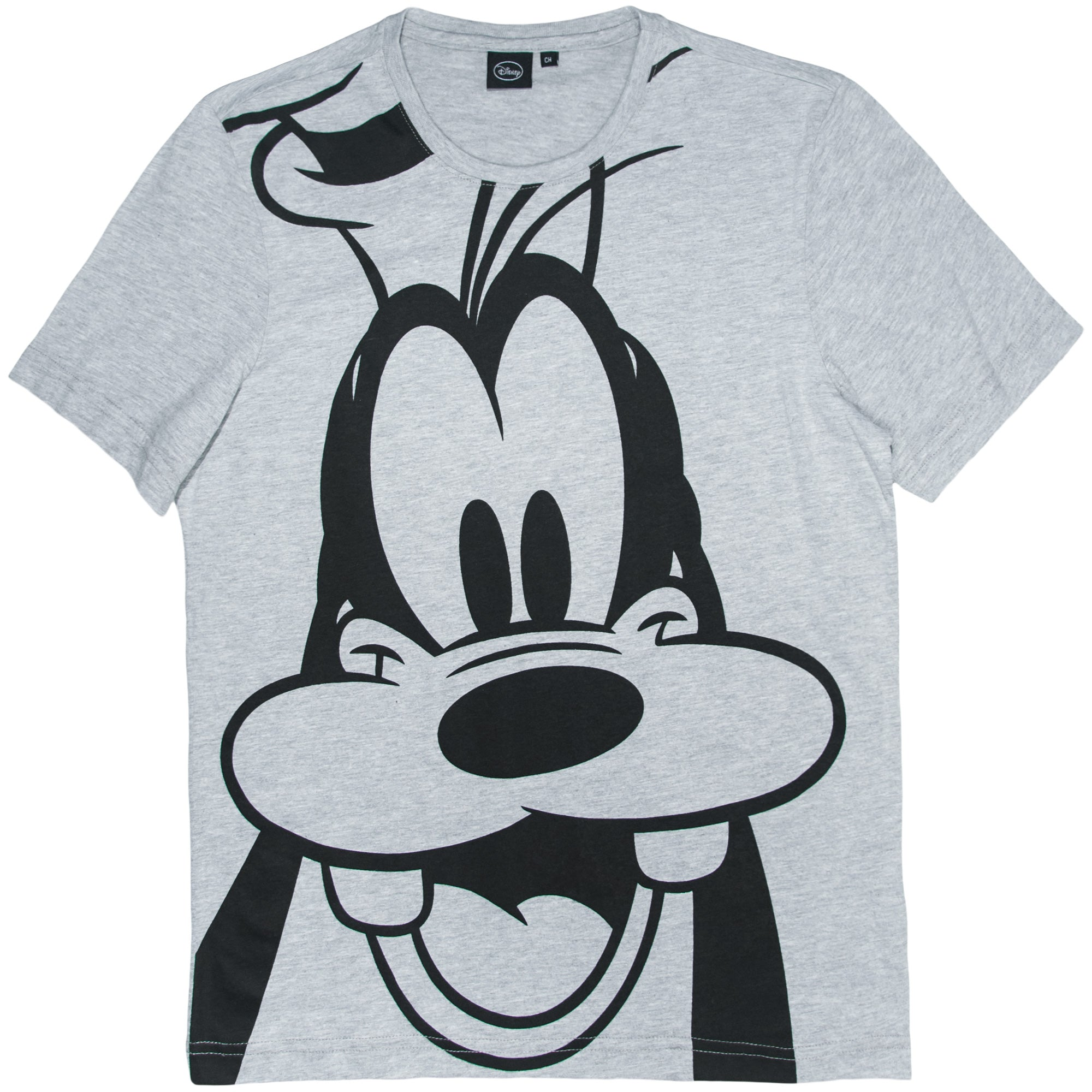 Disney Playera de Goofy color Gris Caballero