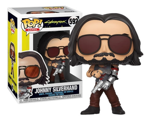 Funko POP! Games Cyberpunk Johnny Silverhand 592