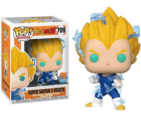 Funko POP! Animation Dragon Ball Z Super Saiyan 2 Vegeta 709