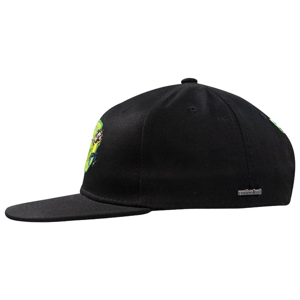 Gorra Rick & Morty Negra