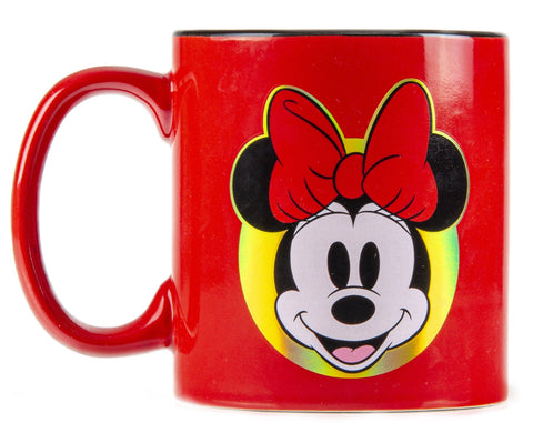 Disney Taza Minnie Iridiscente multicolor.