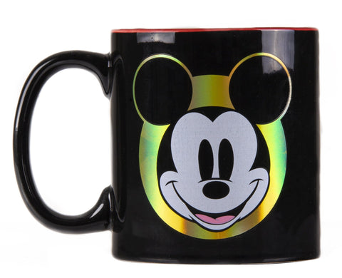 Disney Taza Mickey Iridiscente multicolor.