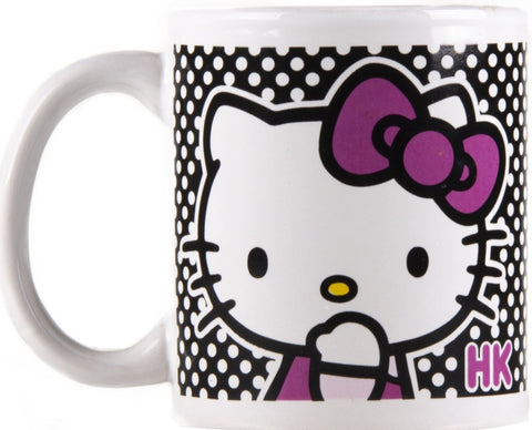 Taza Hellow Kitty color blanco.