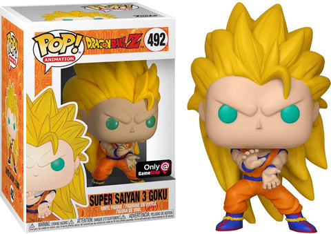 Funko POP! Animation Dragon Ball Z Super Saiyan 3 Goku 492