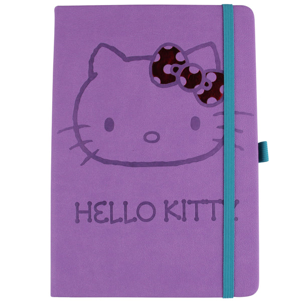 Hello kitty Libreta Kitty Morada